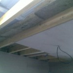 Plafond en construction!