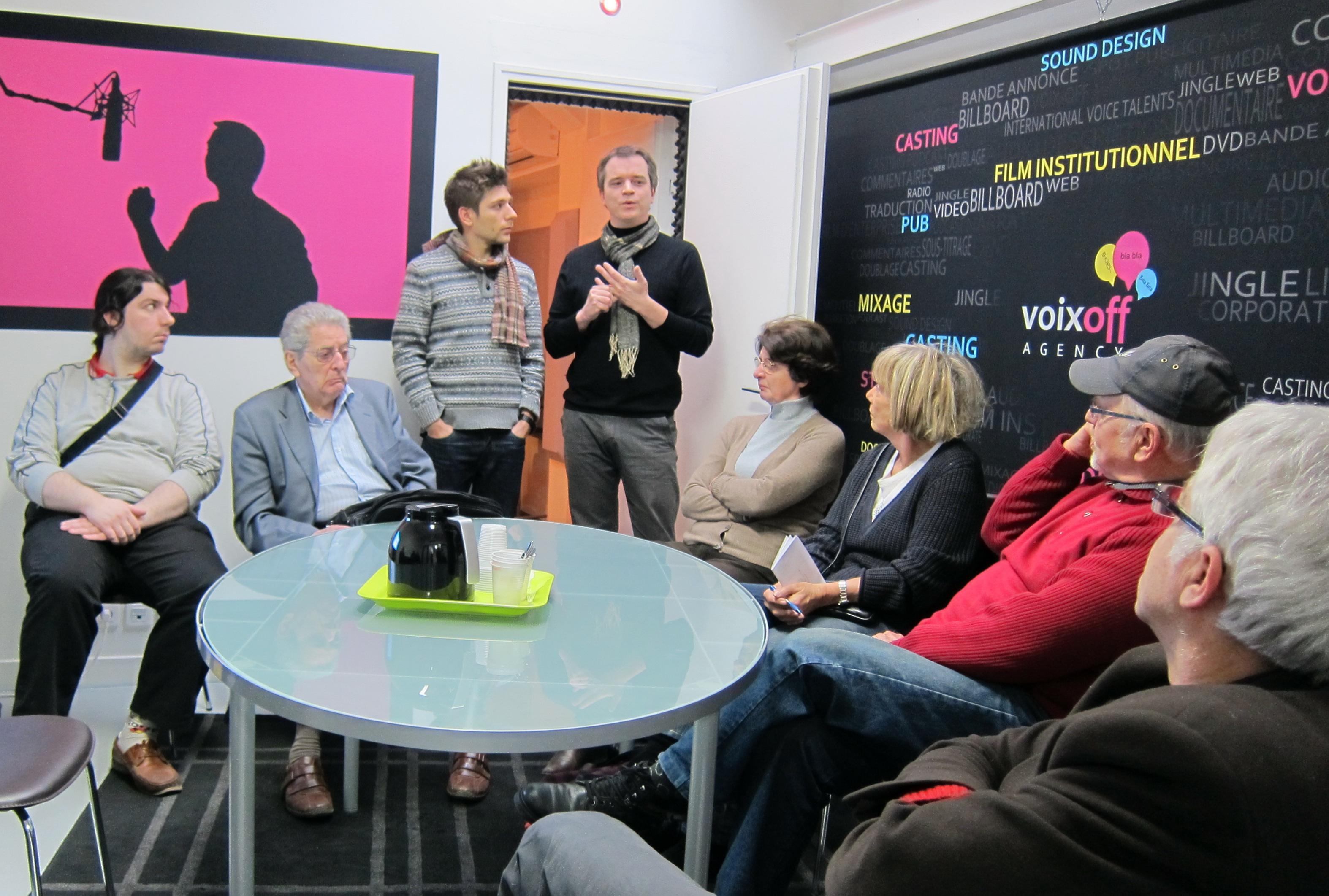 Présentation Studios Voix Off Agency