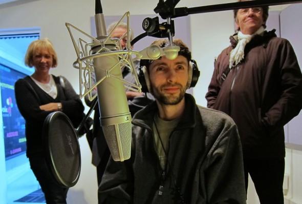 Voix Off Agency visite CDT 93 studio