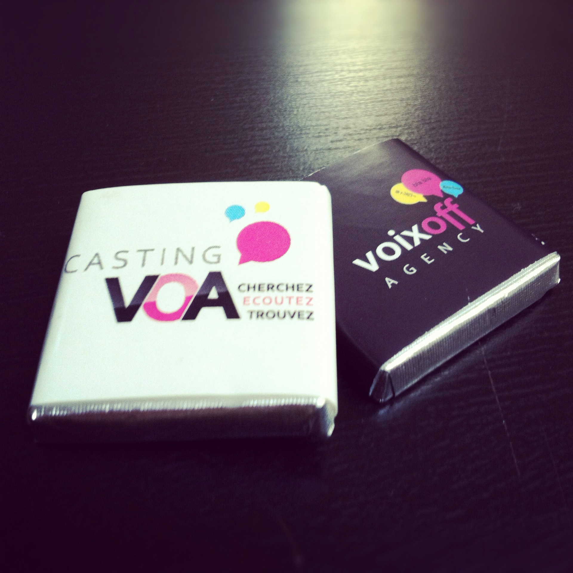 Voix Off Agency / Casting VOA chocolats