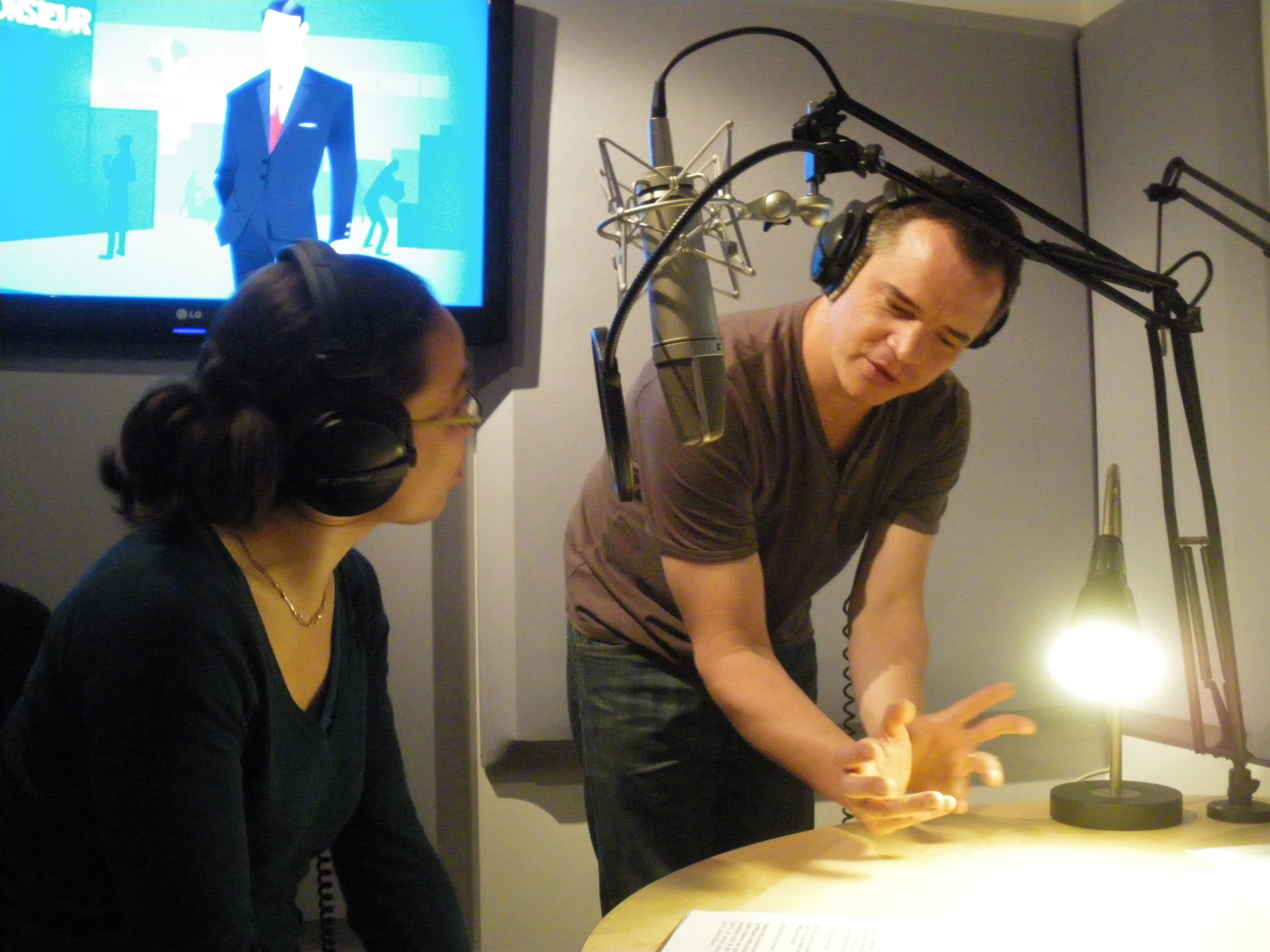 Visite Studios Voix Off Agency pour Futur en Seine