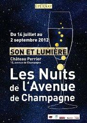 Voix Off Agency pour Les Nuits de l'avenue de Champagne 2012