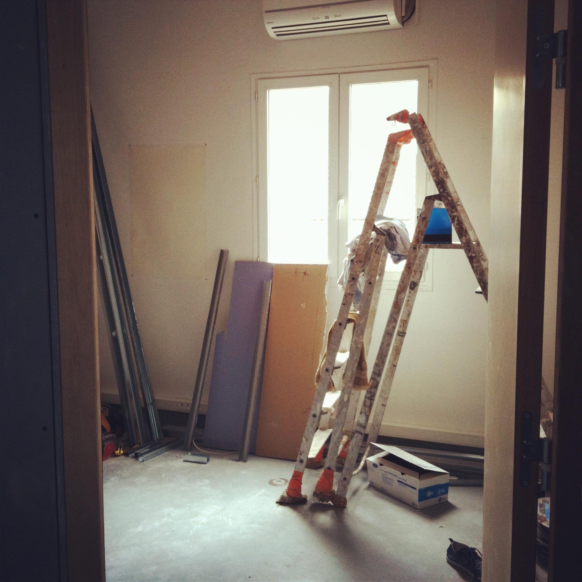 Construction du 4ème Studio Voix Off Agency