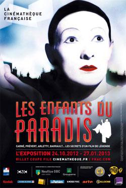 """Voix Off Agency pour l'exposition """"Les enfants du Paradis"""""""