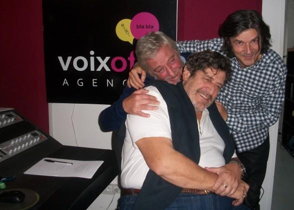 Enregistrement voix off françaises de Johnny Depp, Bruce Willis et Robert De Niro par les Studios Voix Off Agency
