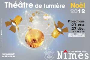 Voix Off Agency pour le Théâtre de lumière de la ville de Nîmes