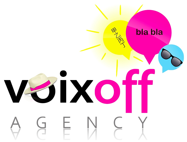 Logo Voix Off Agency été 2013