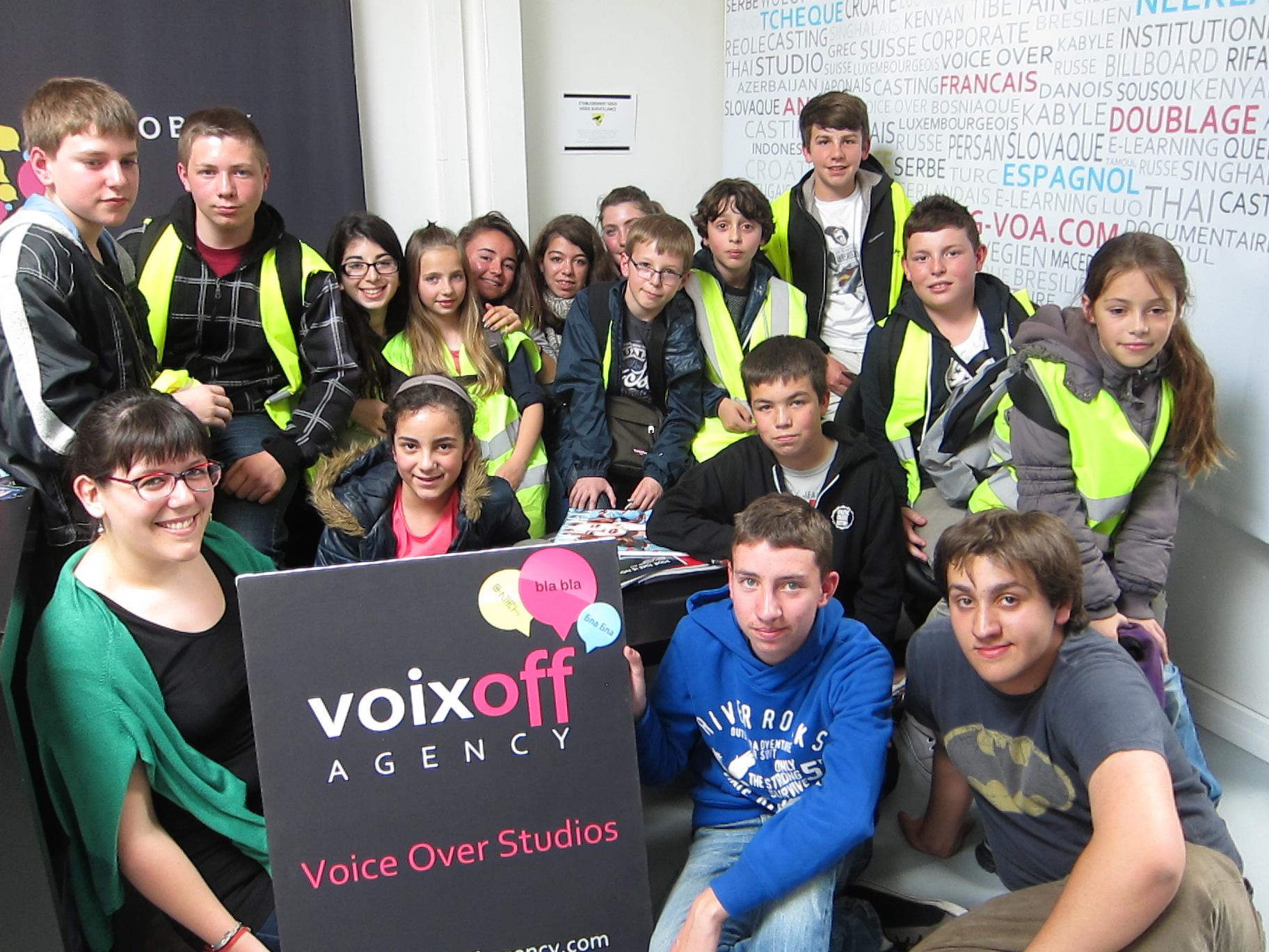 Visite Studios VOA - Compagnie Anoki