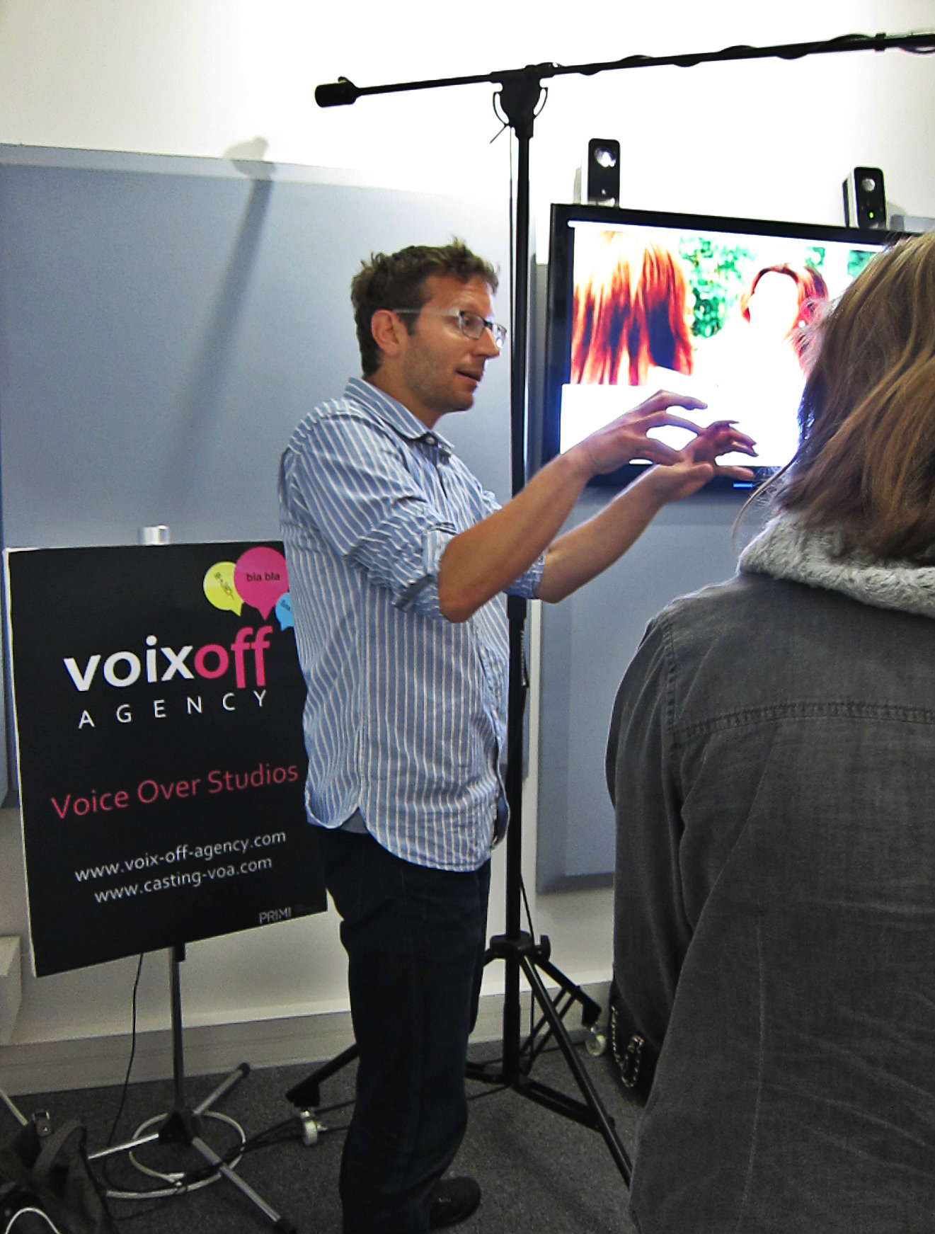 Visite Voix Off Agency VOA - CDT 93 Futur en Seine 2014